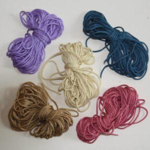 Bunker braid pack 1, 5 colours