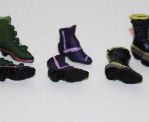 Ladies boots, 3 pair