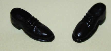 Black dress shoes, mens