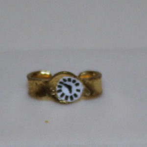 Gold bracelet watch