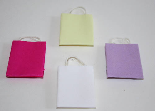 Shopping bags, set of 4