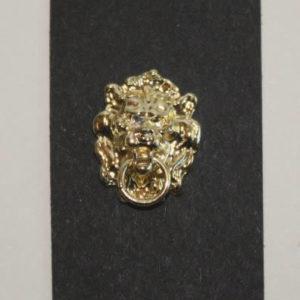 Lion head door knocker Gold