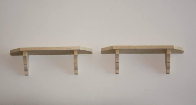 Wall shelves, medium