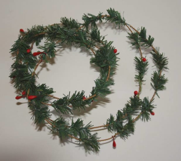 Christmas fir string 1m