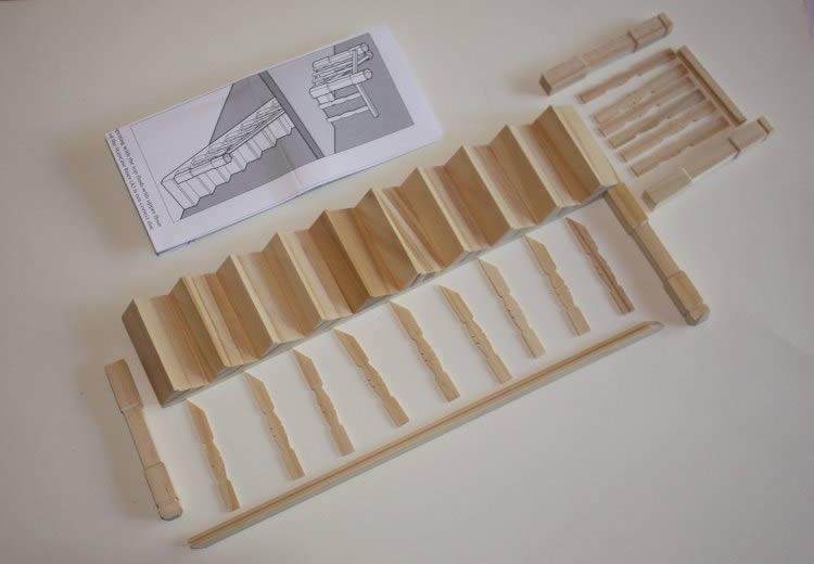 Narrow staircase  kit