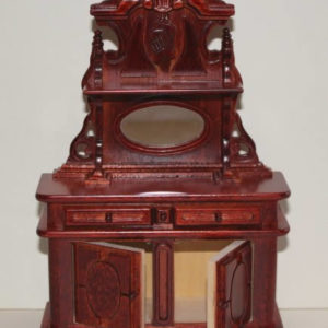 ornate mahogany buffet
