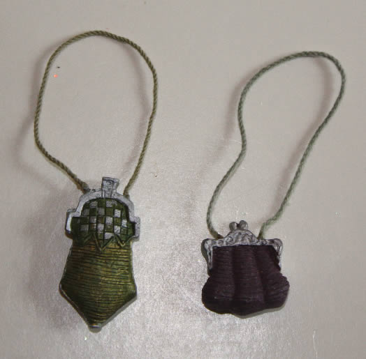 Ladies' resin handbags