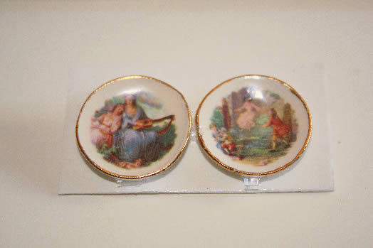 China Plates, set of two. #3