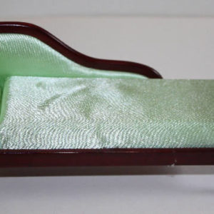Mahogany chaise lounge