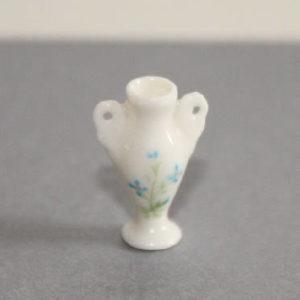White porcelain tall vase
