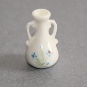 White porcelain geni vase  very small