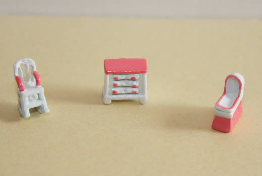 3pce pink and white nursery set-1:96