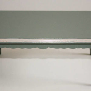 green rect table