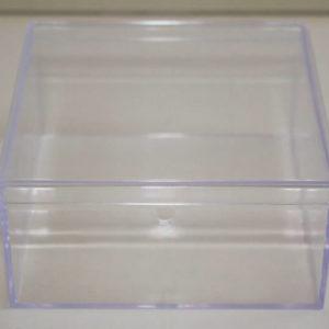 Clear square box