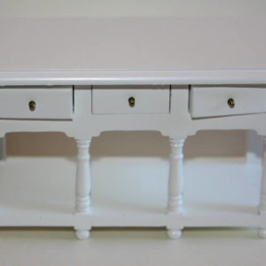 Buffet  white timber with drawers