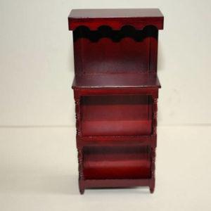 Mahogany display stand