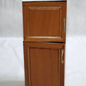 Walnut 2 door  Pantry/ Fridge