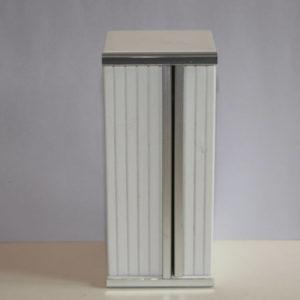 White timber 2 door fridge