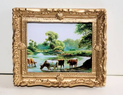 Picture of cows in meadow