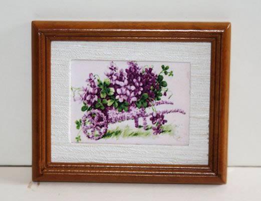 Print of violets