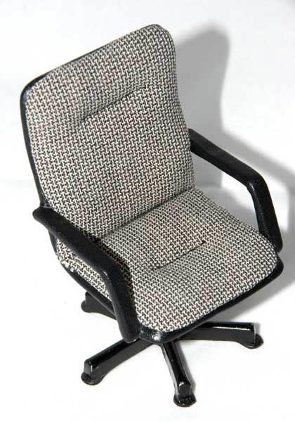 Tweed office chair