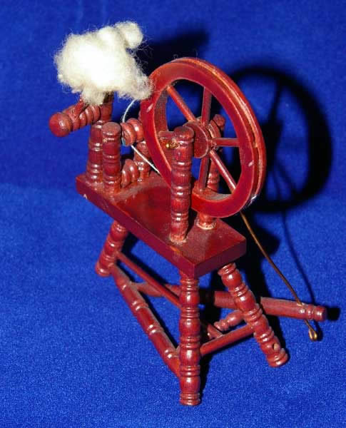 Spinning wheel now bare wood only