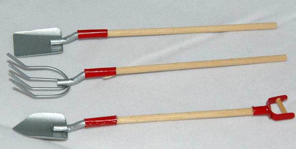Long garden tools