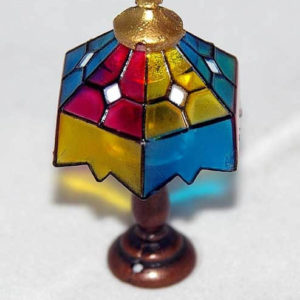 Multi-coloured lamp