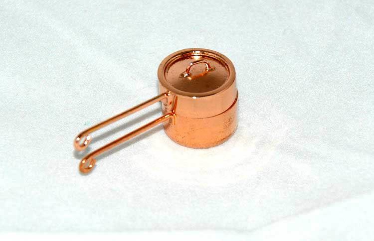 Copper double boiler
