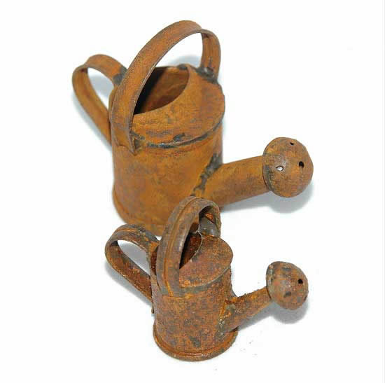 Rusty large  only - Watering Can