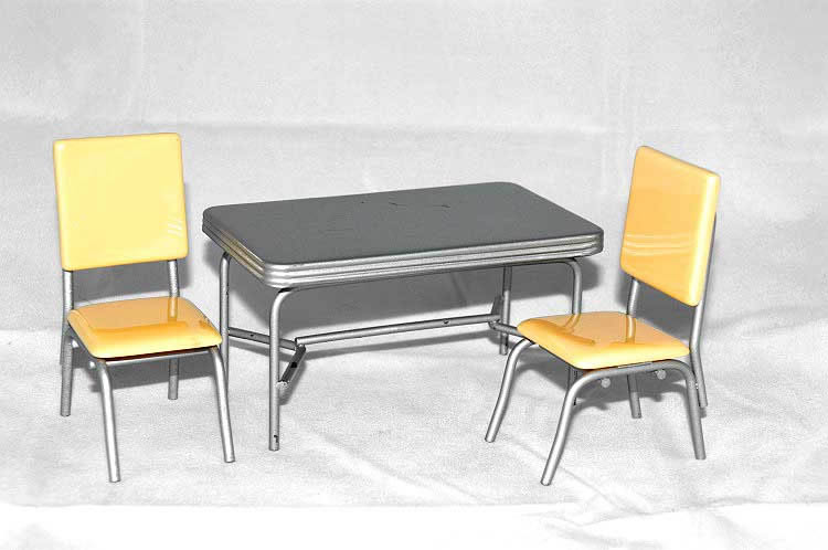Retro chairs, yellow