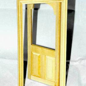 Glass top door