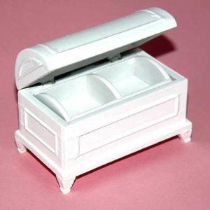 White toy chest