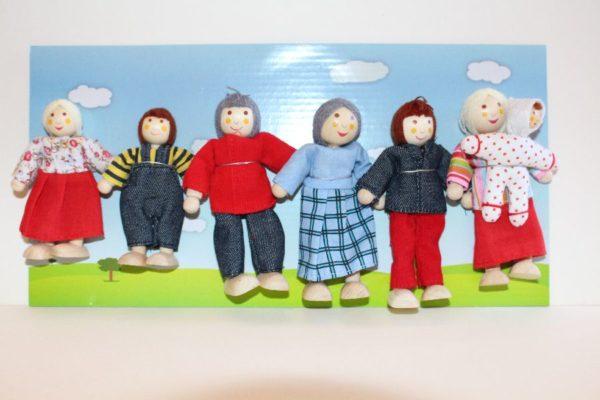 Set of 7 modern family