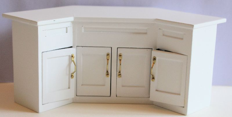 White island  bench  with cupboards