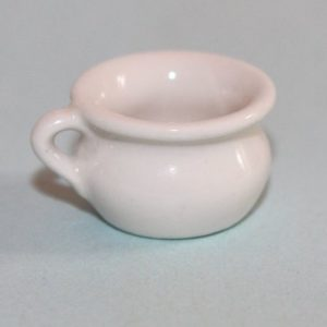 White china potty