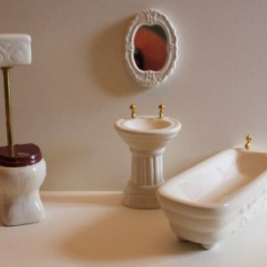 4pce Porcelain Bathroom Set