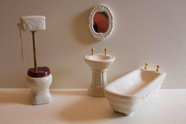 4pce Porcelain Bathroom Set