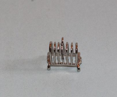 Silver Metal Toast Rack