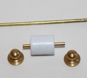 Gold Towel Rail Set