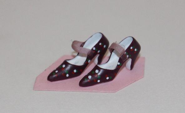 Ladies Shoes burgundy