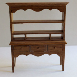 Oak Hutch with Drawers