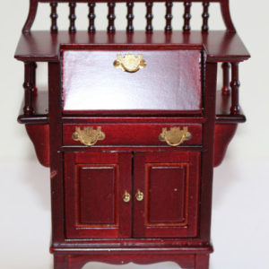 Desk-Mahogany Drop Down Front