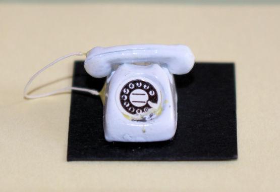 Phone - White Dial