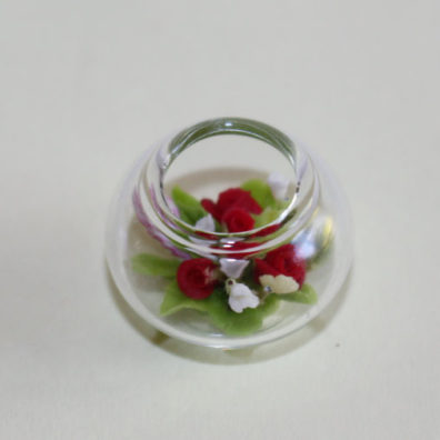 Glass Bowl of Flowers