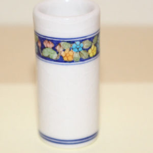 Umbrella Stand White Porcelain