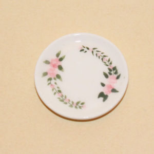 White China Serving Plate