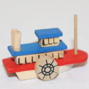Wooden Riverboat