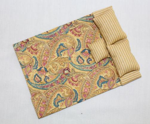 Bedspread/Doona Gold Paisley
