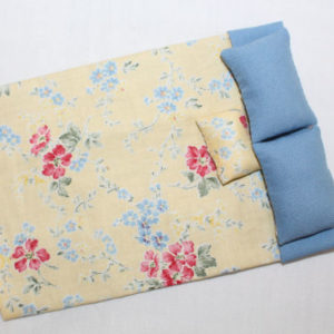 Bedspread/Doona-Blue and Yellow Floral